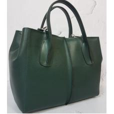 Кожаная женская сумка ETERNO EK26-A2 Зеленый