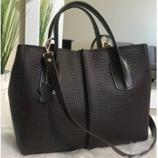 Женская кожаная сумка ETERNO EK26-A-40 Коричневый