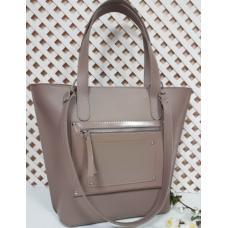 Женская кожаная сумочка Carla CAR8A-3 Бежевый
