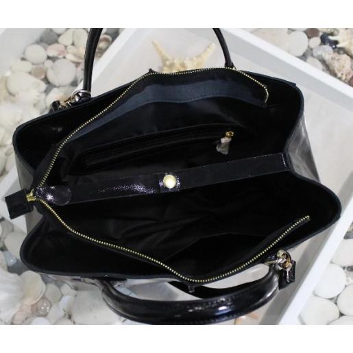 Женская кожаная сумка ETERNO EK26-A-18 Черный