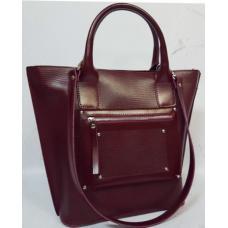 Женская кожаная сумка Carla CAR8A-7 Бордовый