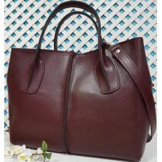 Женская кожаная сумка ETERNO EK26-A- 14 Бордовый