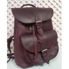 Кожаный женский рюкзак Bavarly 21A-1 Burgundy