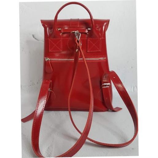 Женский кожаный рюкзак Maritza EK21A-1 красный