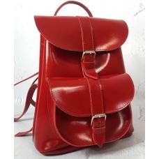 Женский кожаный рюкзак Maritza EK21A-1red