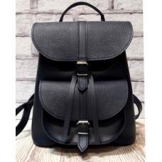 Кожаный женский рюкзак Bavarly 21A-10 Black