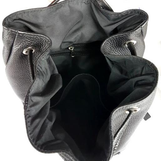Женский кожаный рюкзак PAOLO 45ANR-1 Черный