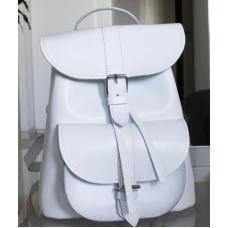 Женский кожаный рюкзак Bavarly 21A-12 white
