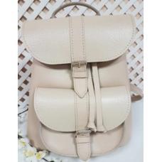 Женский кожаный рюкзак Bavarly 21A-34 Beige