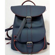 Женский кожаный рюкзак Bavarly 21A-3 Blue