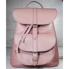 Женский кожаный рюкзак Bavarly 21A-20 pink