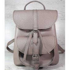 Женский кожаный рюкзак Bavarly 21A-22 rose