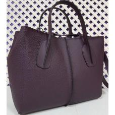 Женская сумка из натуральной кожи 26A-14 Сливовый