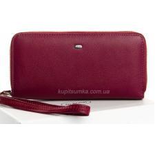 Женский кошелек из кожи бордовый W39-3П-33478
