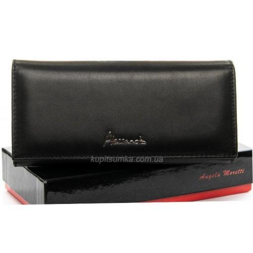 Женский кошелёк с внутренней монетницей WP1-V-2 Черный