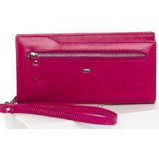 Женский кошелек кожаный WP2-2 Розовый