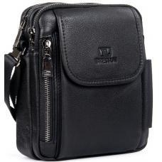 Мужская сумка кожаная POD3513-5 Черный