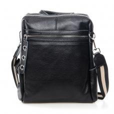 Женский кожаный рюкзак 7687P-1 black
