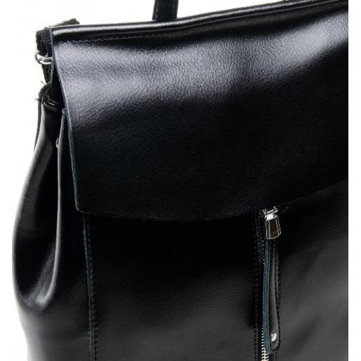 Рюкзак женский кожаный DO8504-2R черный