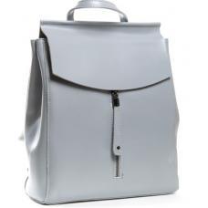 Женский рюкзак кожаный голубой POD-3206-78