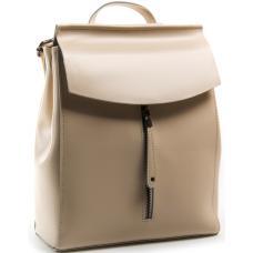 Женский рюкзак из натуральной кожи 32PP06 бежевый