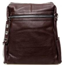 Женский рюкзак из кожи 8187-9P Коричневый