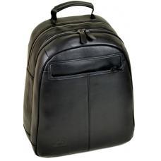 Мужской кожаный рюкзак черный 80P03-78RO