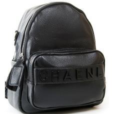 Сумка-рюкзак из кожзаменителя PP2701-3 черный