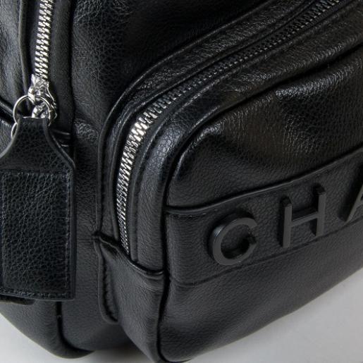 Сумка-рюкзак из кожзаменителя PP2701-3 black