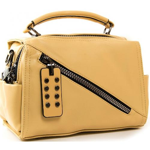Женская сумка из кожзаменителя  FASHION PP029-1 yellow