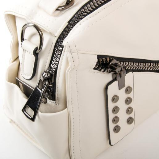 Женская сумка из кожзаменителя FASHION PP029-2 white