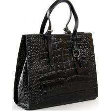 Женская кожаная сумка Kroko 8800POD-1Черный