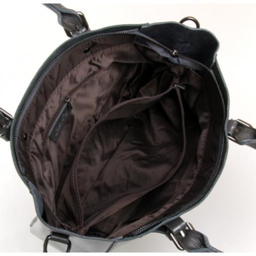Женская сумка из натуральной кожи 8223PP-3 grey