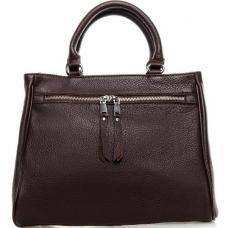 Женская кожаная сумка коричневого цвета 8782P