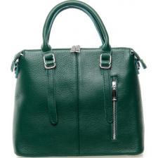 Женская сумка кожаная 125P green