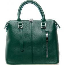 Женская сумка кожаная 7125P Зелёная