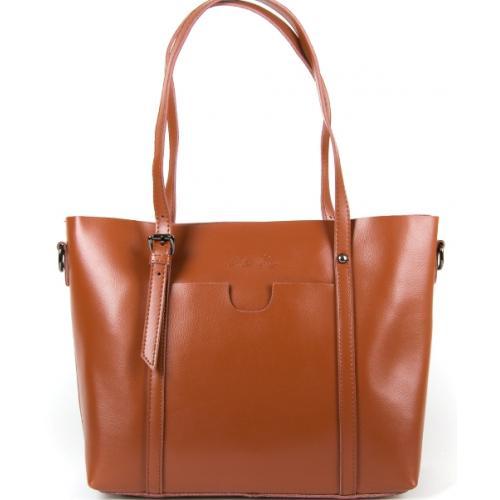 Женская кожаная сумка 199P-121soil yellow