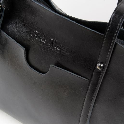 Женская кожаная сумка 199P-16 black