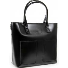 Женская кожаная сумка 198P-1 black