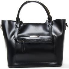 Женская сумка кожаная Elegant 8222PP-1 Черный