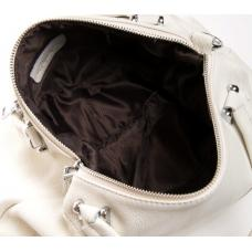 Кожаная женская сумка зелёного цвета PO1535-1P