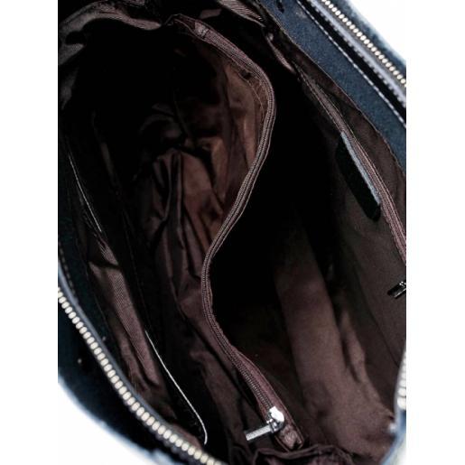 Сумка женская кожаная 713POD graphite