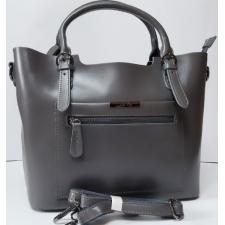 Кожаная женская сумка Elegant 8222PP-2 Серый