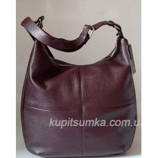 Женская сумка кожаная на плечо PB14-3 Марсала