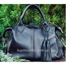 Женская сумка из натуральной кожи PB20-2 Синий