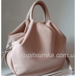 Женская кожаная сумка 31PB-9 Розовый