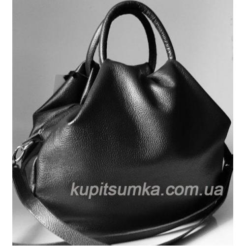 Женская кожаная сумка 31PB-14 Черный