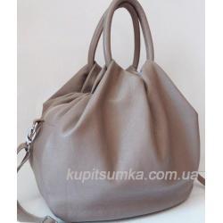 Женская кожаная сумка 31PB-1 Капучино