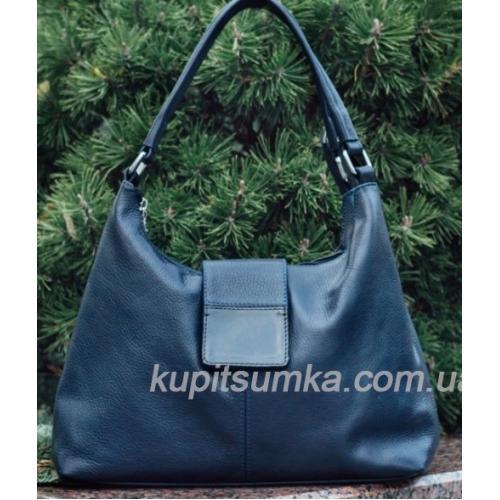Женская кожаная сумка PV39-1 Синий