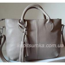 Кожаная сумка для женщин PB23-4 Капучино